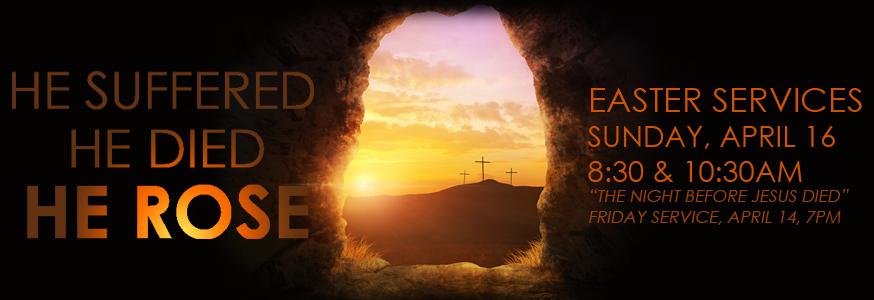 Easter Service, April 16