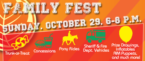 Family Fest Sunday October 29